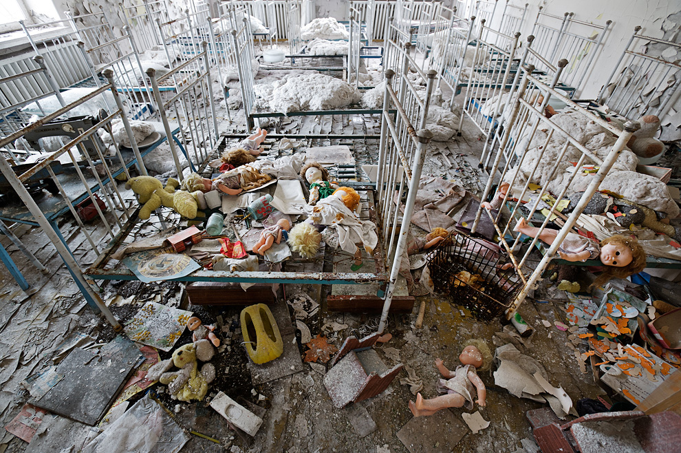 3. The Kindergarten [Pripyat, Ukraine]
