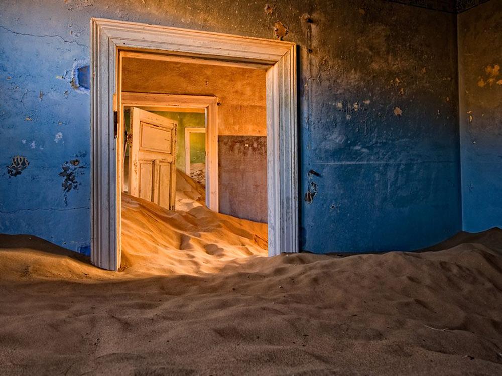 5. Abandoned House [Namib Desert]