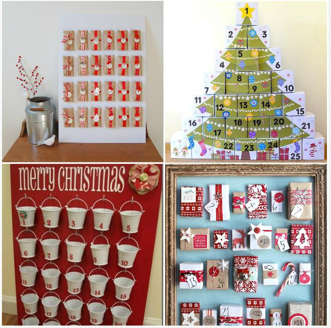 5. Homemade advent calendar