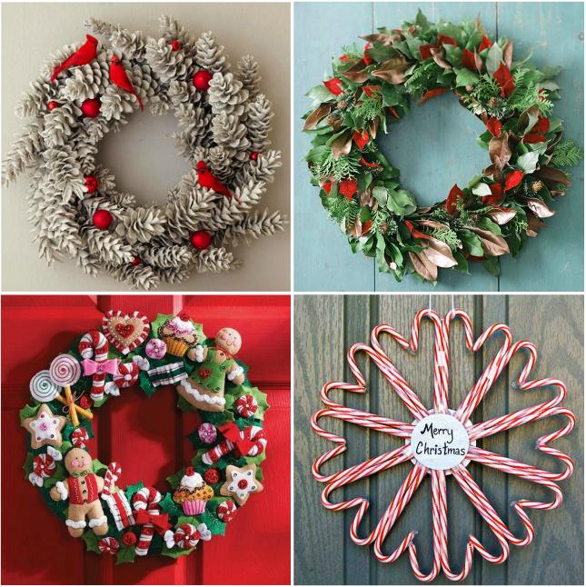 6. DIY Christmas Wreath
