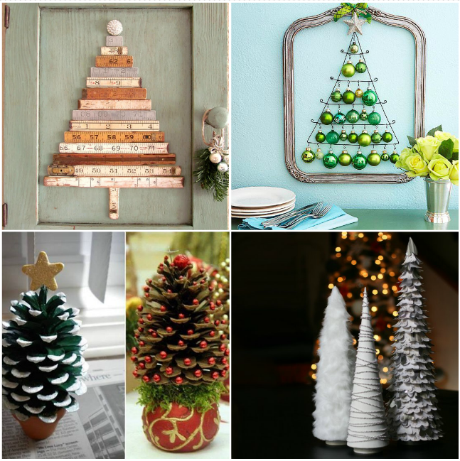 7. DIY Christmas Tree