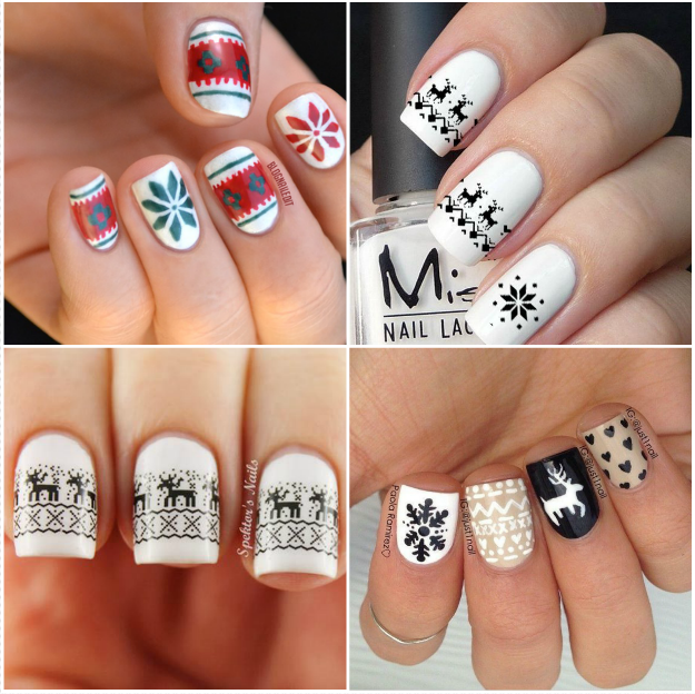 8. Hipster Jumpers Nails