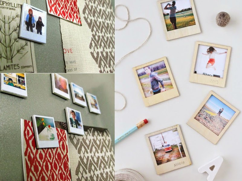 8. Picture magnets