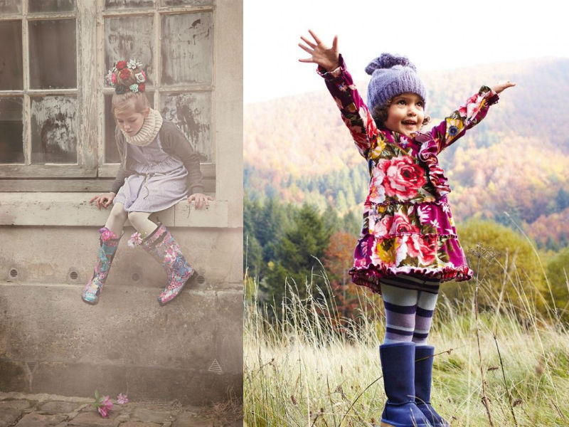 50's inspired floral - Little Fashionistas - Winter Trends