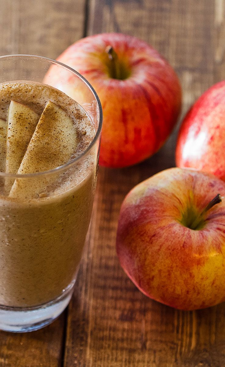 2. Apple Pie Smoothie - Top 10 Winter Smoothie