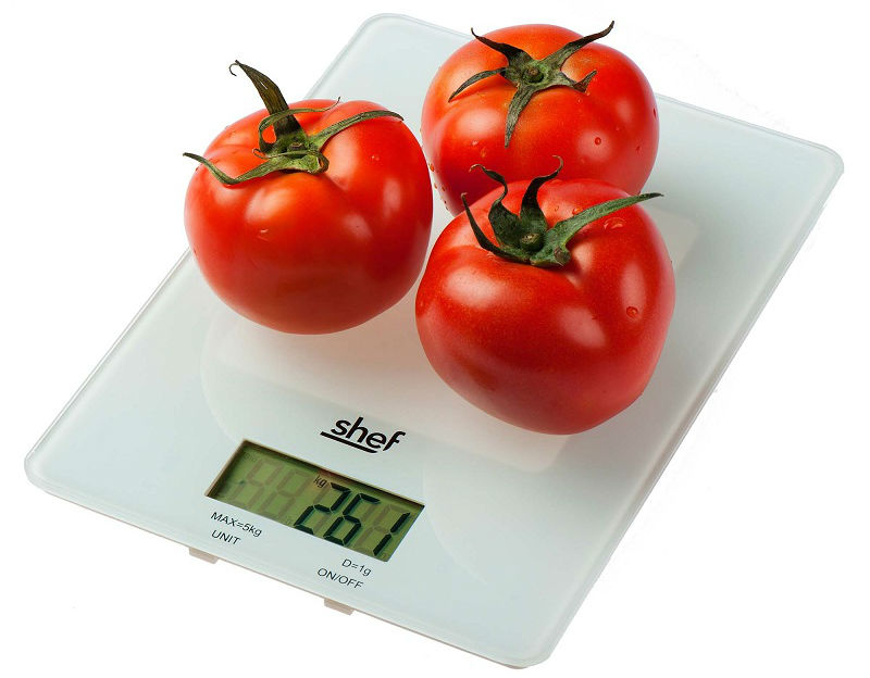 4.  Kitchen digital scales