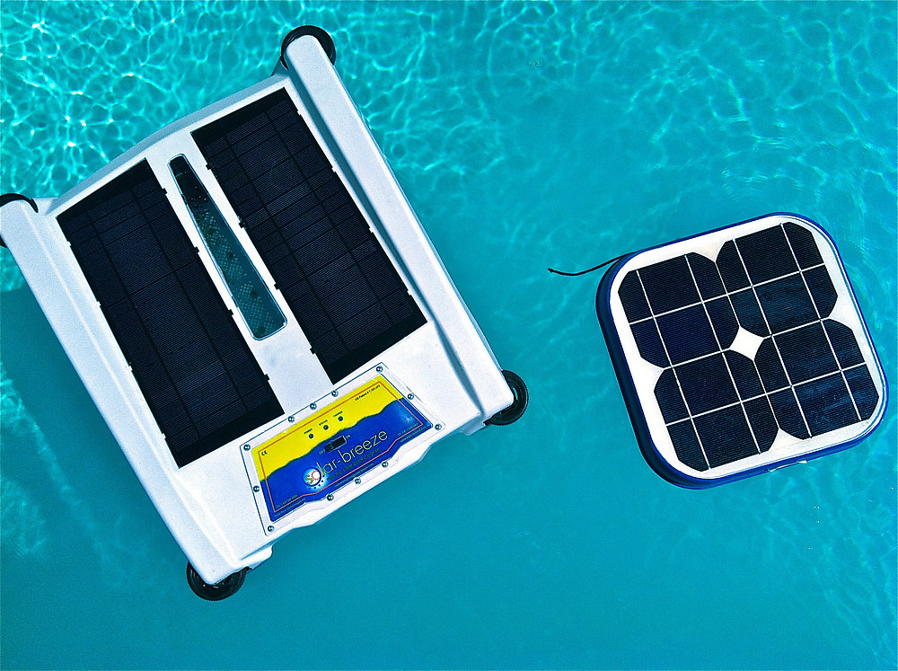 6. Robotic Solar Pool Skimmer