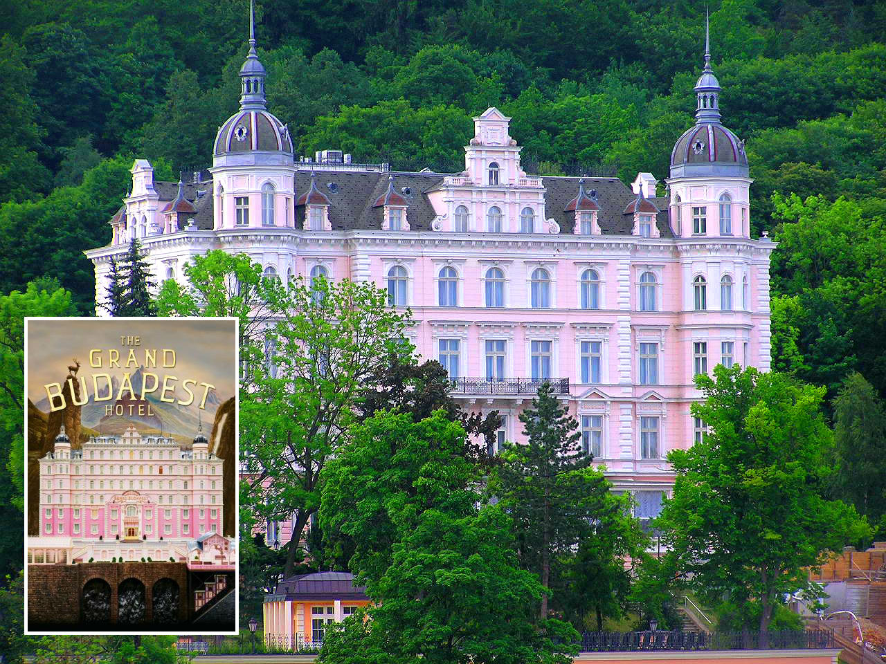 1. The Grand Budapest Hotel - Palace Bristol, Karlovy Vary