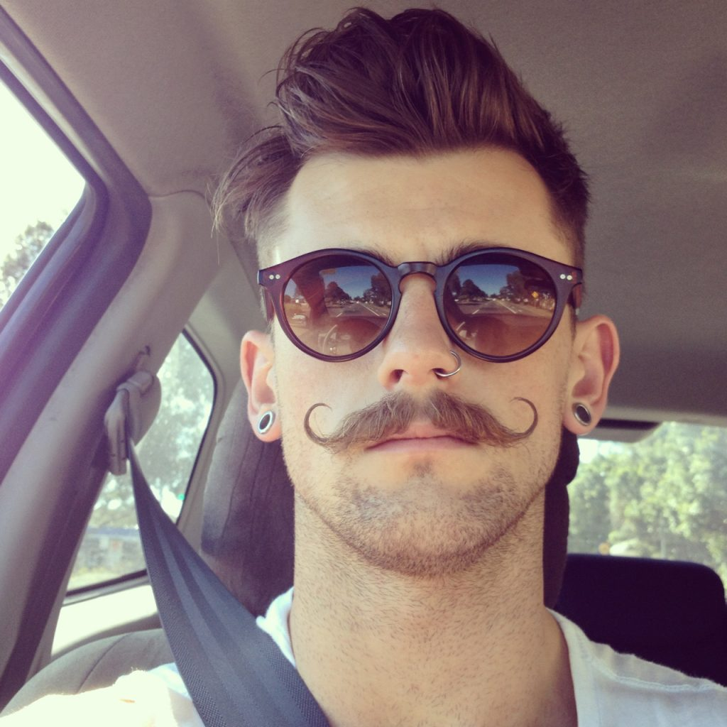 5. Handlebar mustache