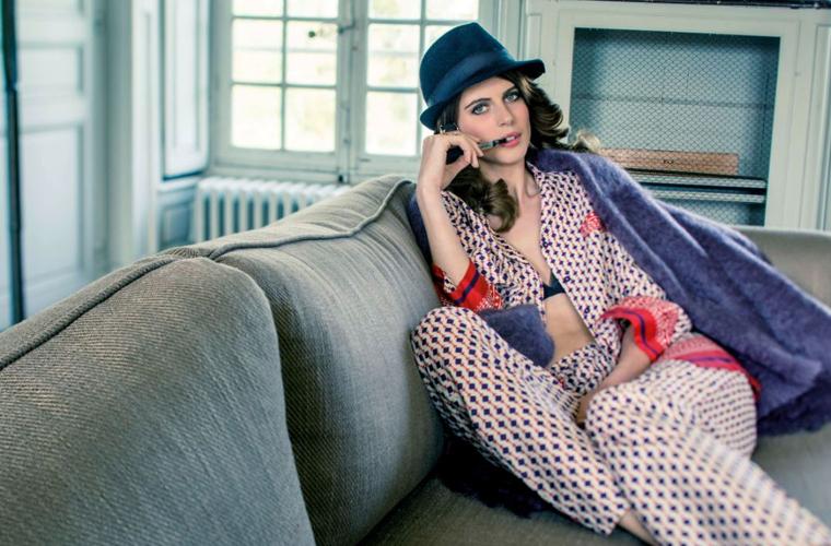 6. Pajamas as day wear
