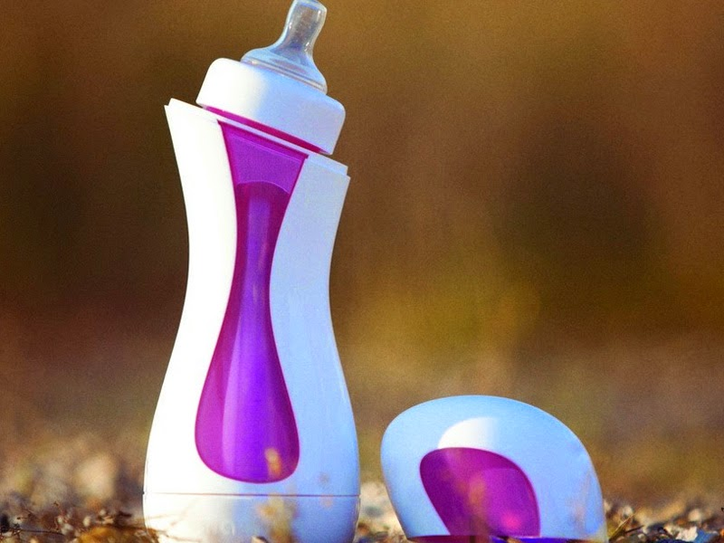9. Self-warming feeding bottle