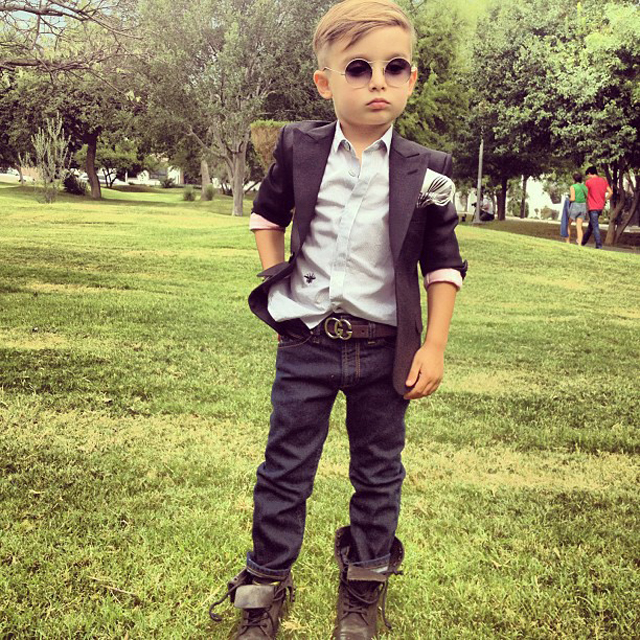 Alonso, the Youngest Fashionista from California
