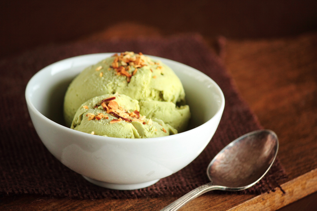 7. Green Tea Ice Cream