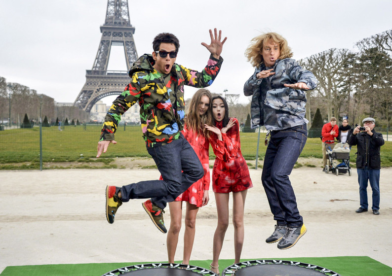 Ben Stiller and Owen Wilson Steal The Spotlight On Valentino's Fashion Show