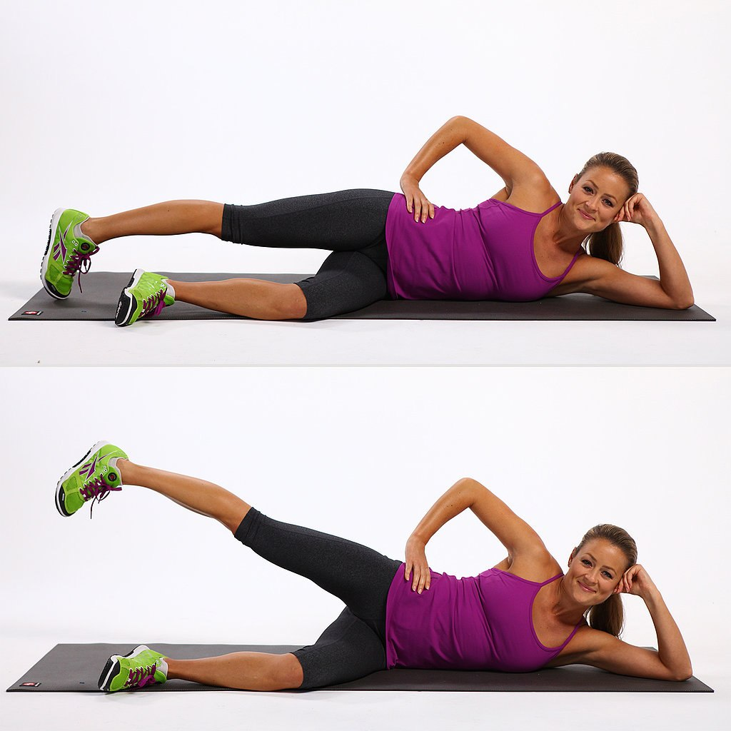 12. Side leg lifts