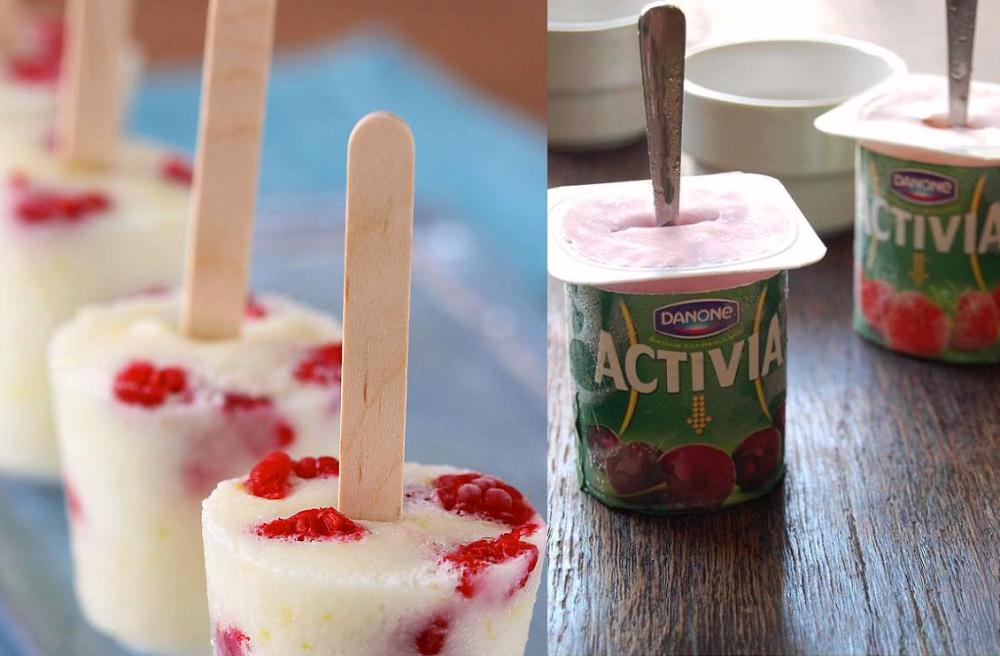 5. Make Your Own Yogurt Pops