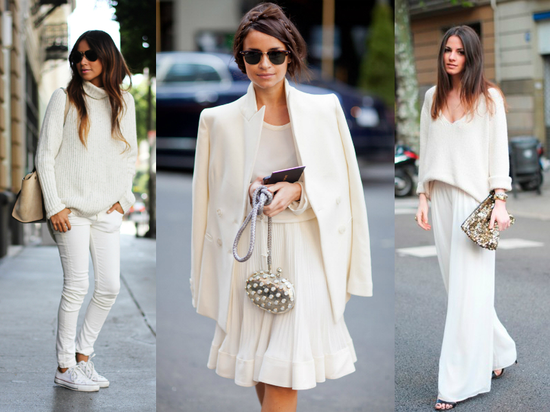 Head-to-toe white