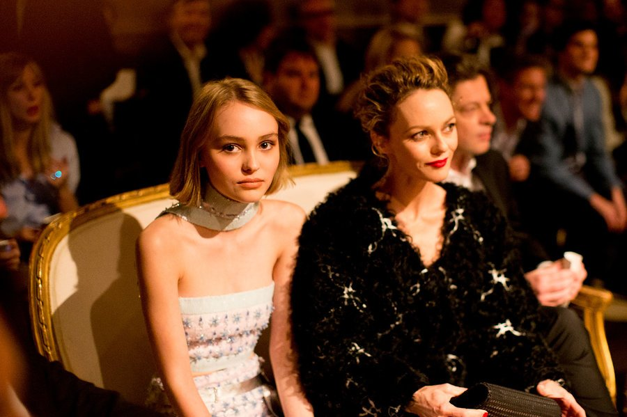 Lily Rose Depp Caused the Real Fuss at Chanel Show