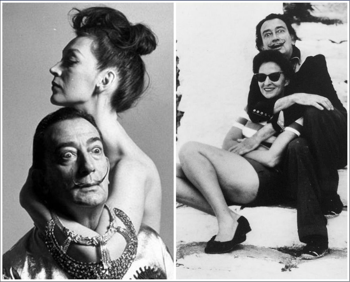 Salvador Dali and Gala