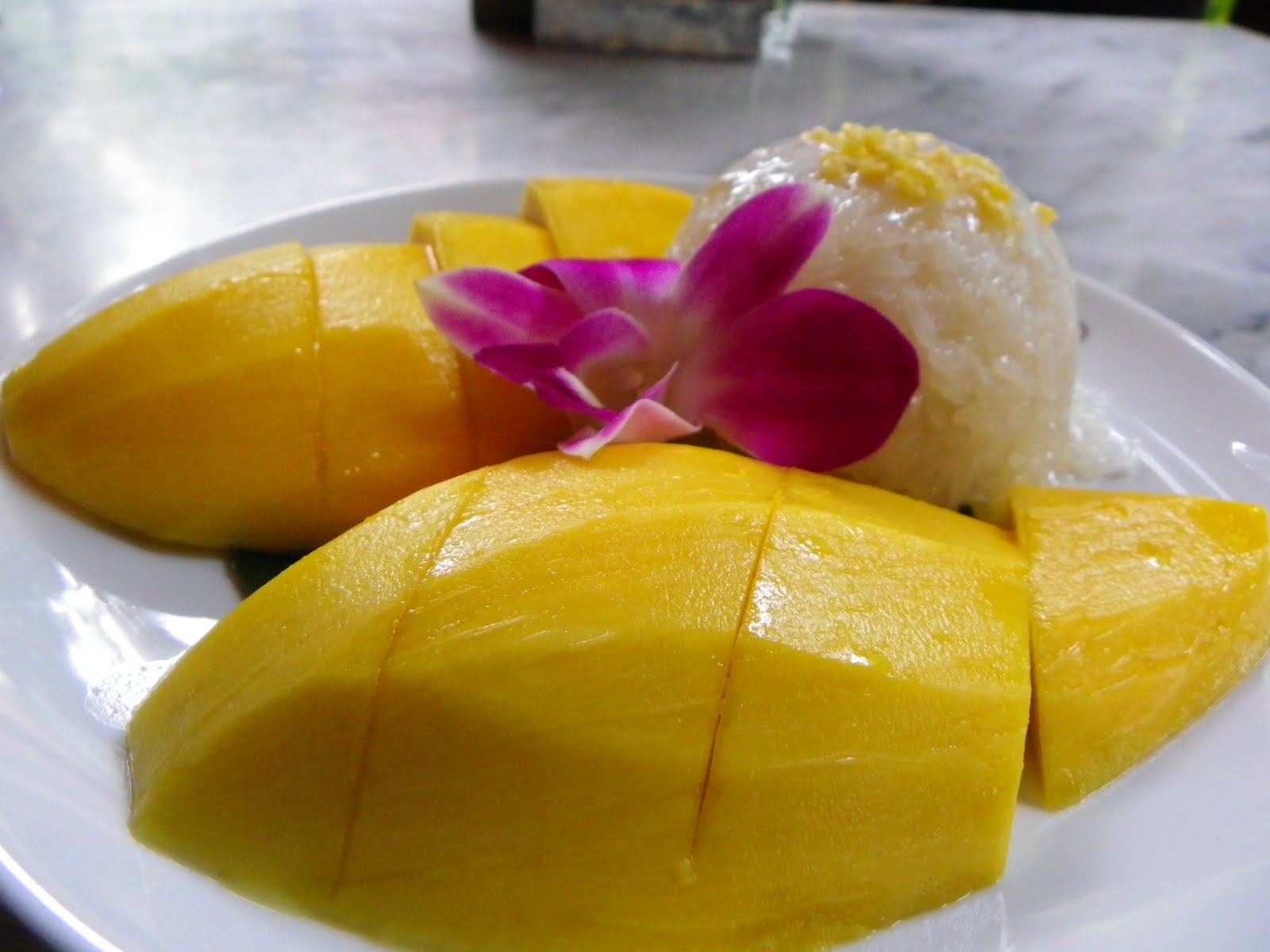 10. Mango sticky rice pudding (Thailand)