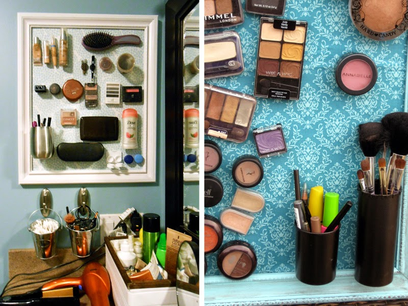 4. Organize your makeup items