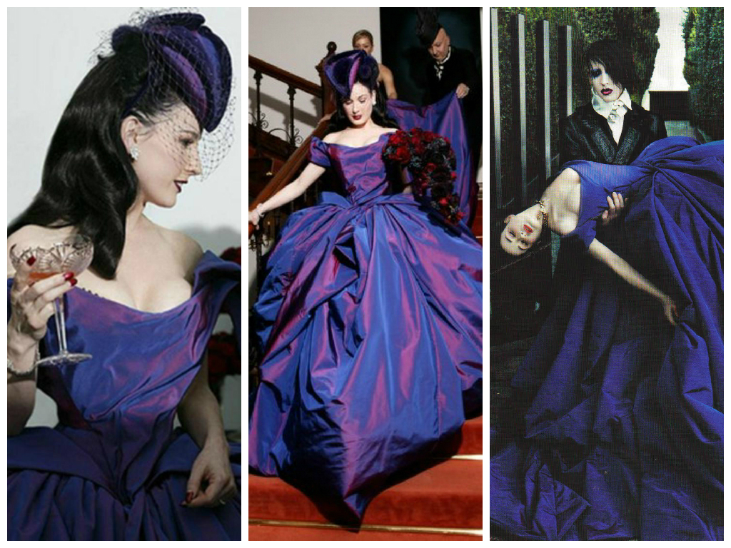 iconic wedding dresses | her beauty