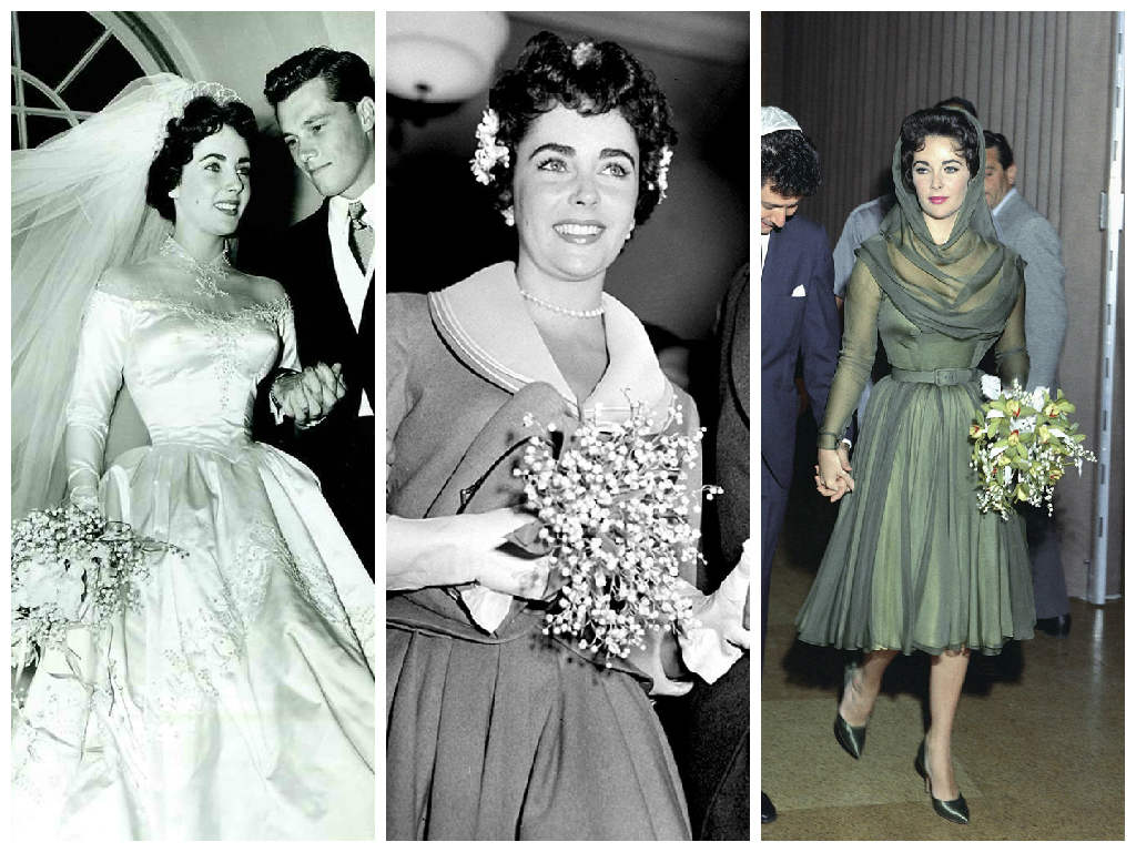 Iconic wedding dresses her beauty page 3 for Elizabeth taylor s wedding dresses