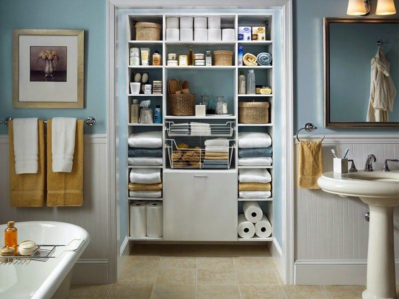 Ideas to Get Your Bathroom Organized