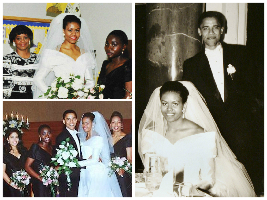 michelle obama wedding iconic wedding dresses her beauty