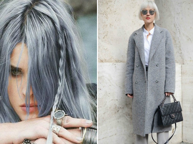 The Hottest Spring Trend - Granny's Hair