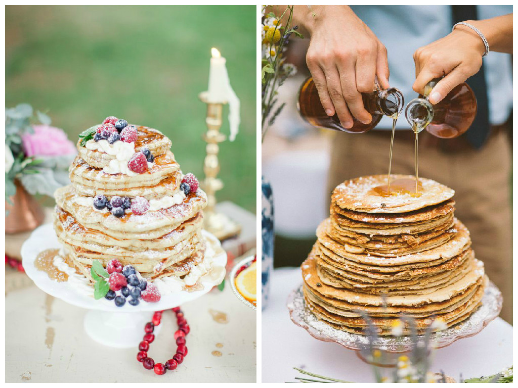 13. Pancake Wedding Cake