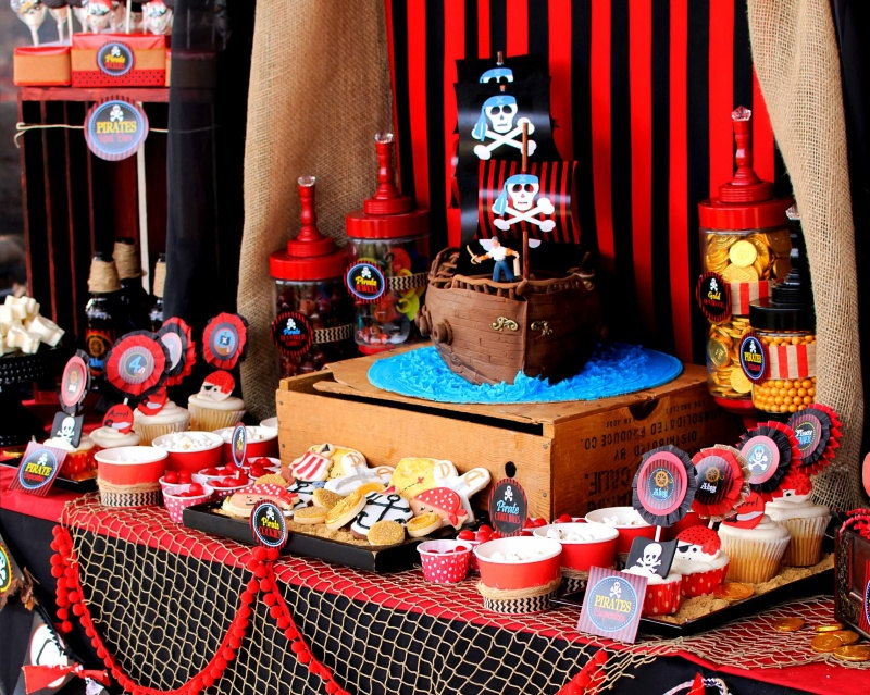 2. 'Pirate' party for boys 2