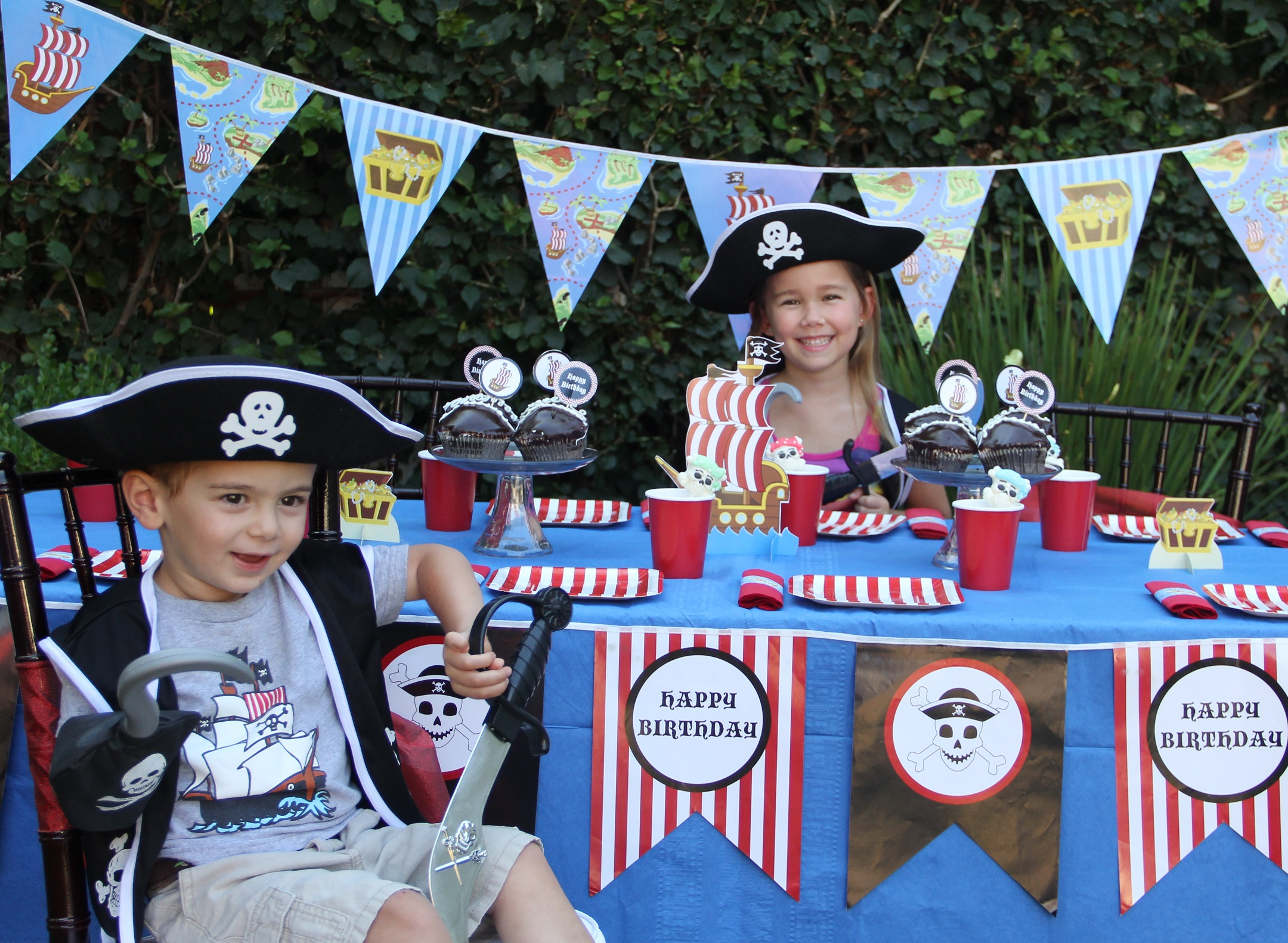 2. 'Pirate' party for boys