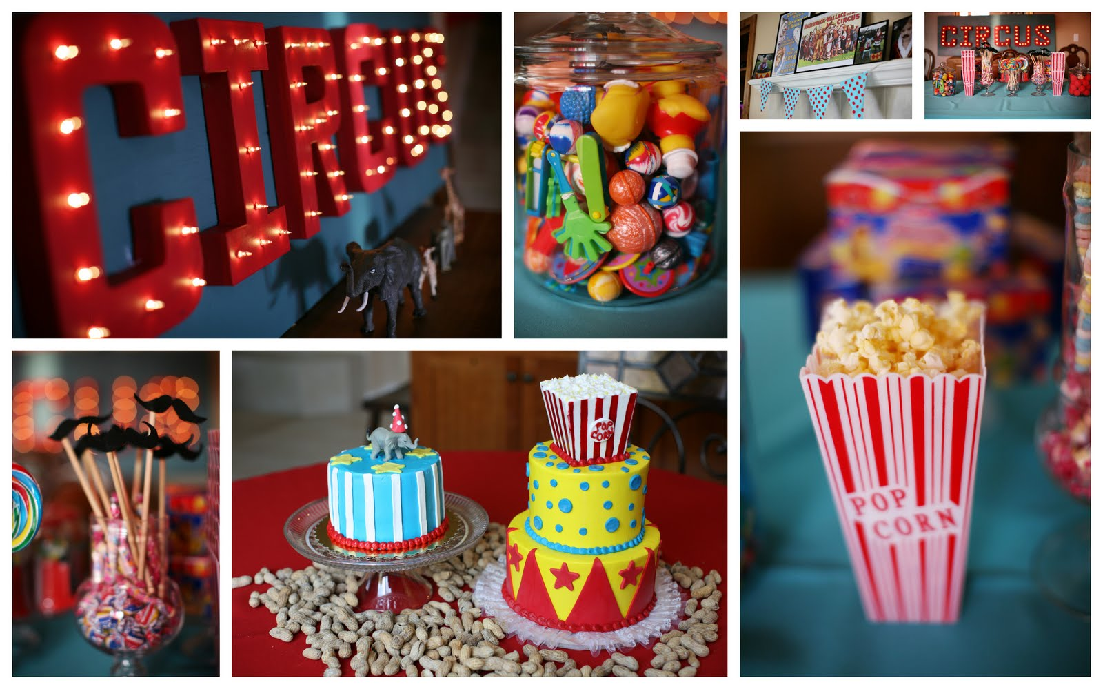 popcorn the circus img a birthday with party decorations found keeping i decor hobby of at kiddos boxes have they lobby ton up