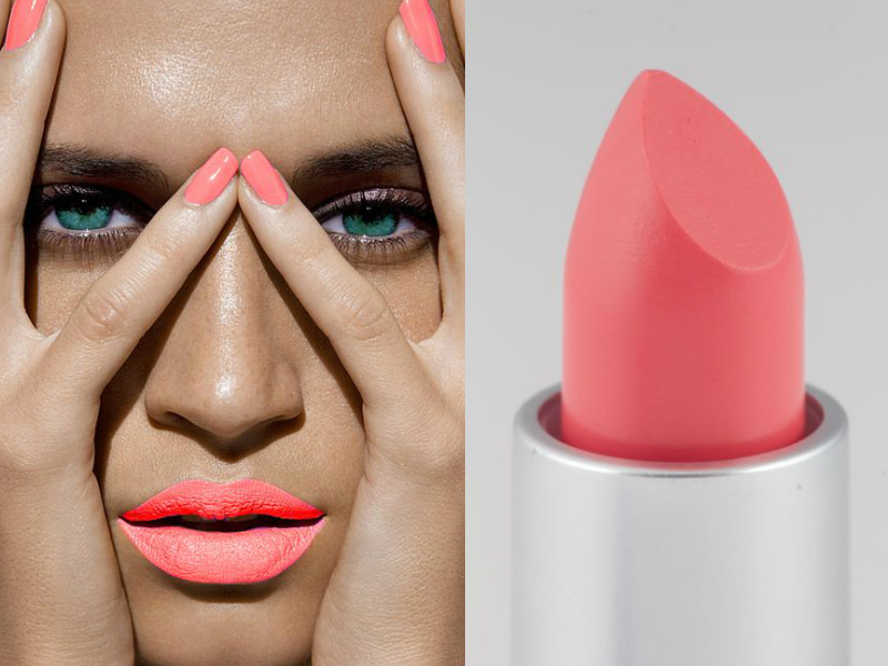 Coral - 7 Best Lipstick Colors for Summer 2015