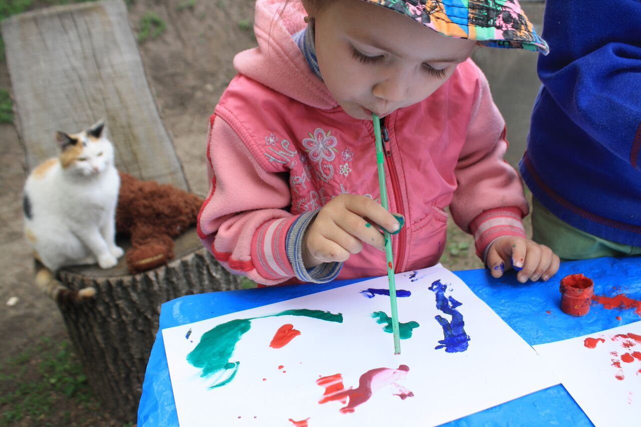 Fun Ways To paint With Your Child