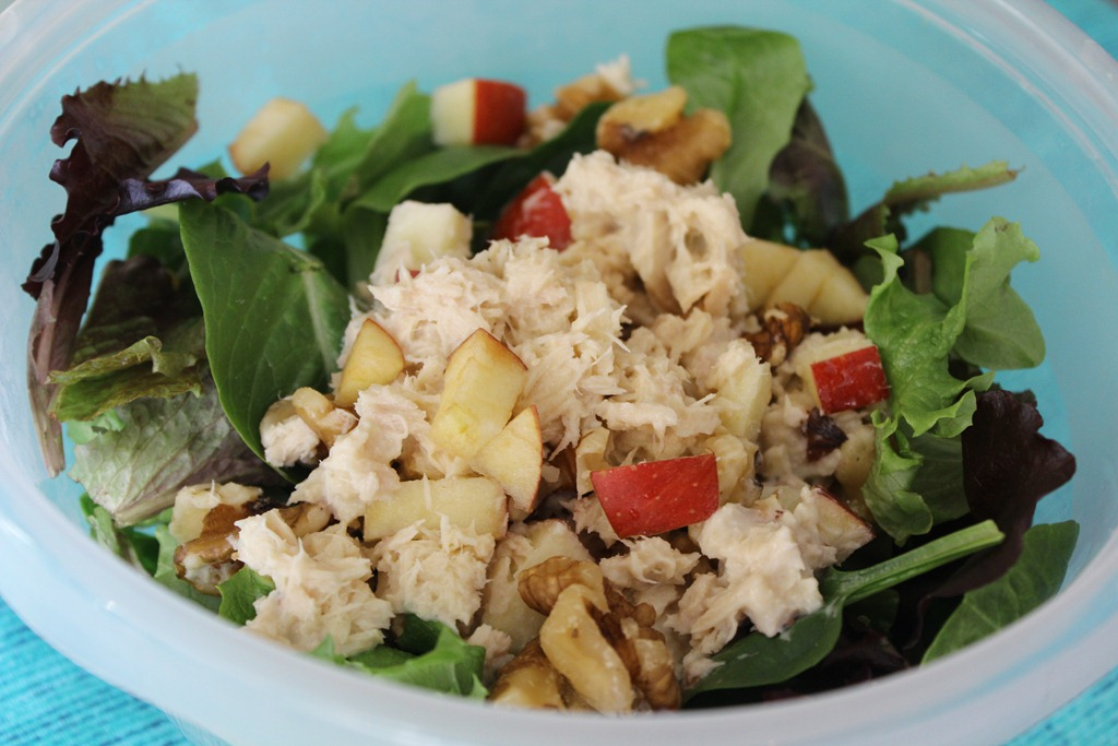 Number 5 — Apple and Tuna Salad