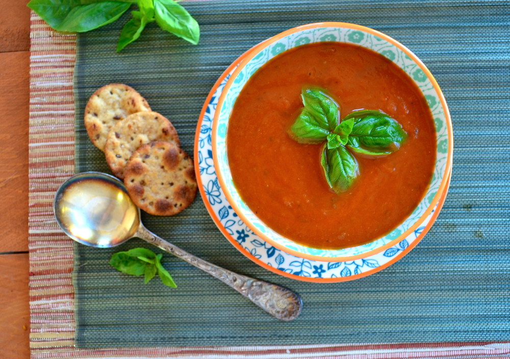1. Tomato and Orange Soup