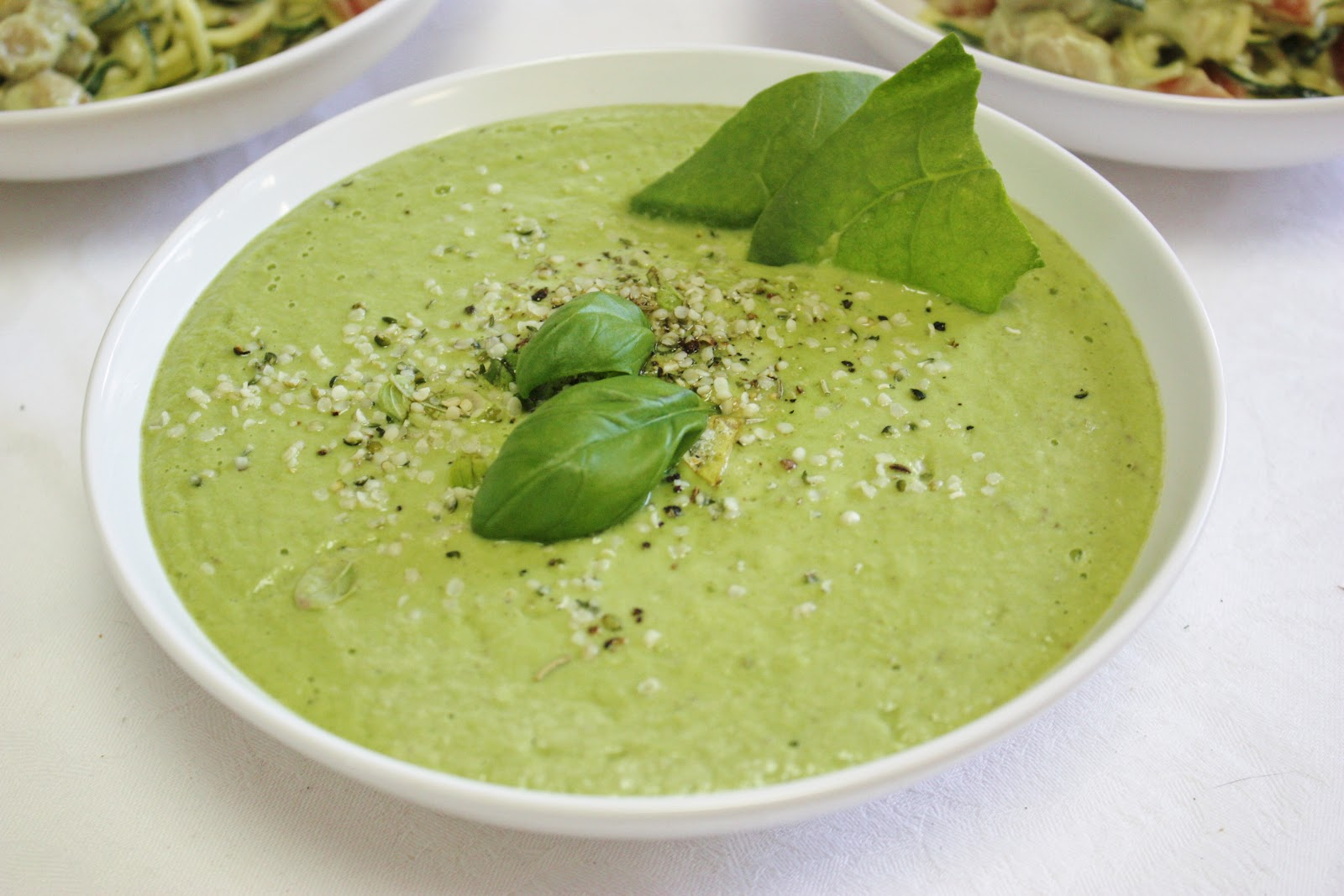 3. Spinach and Avocado Soup