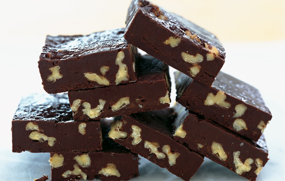 4. Vegan Fudge