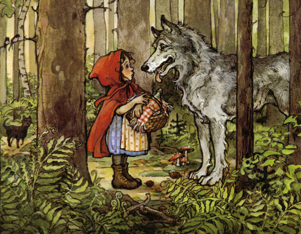 9. Little Red Riding Hood