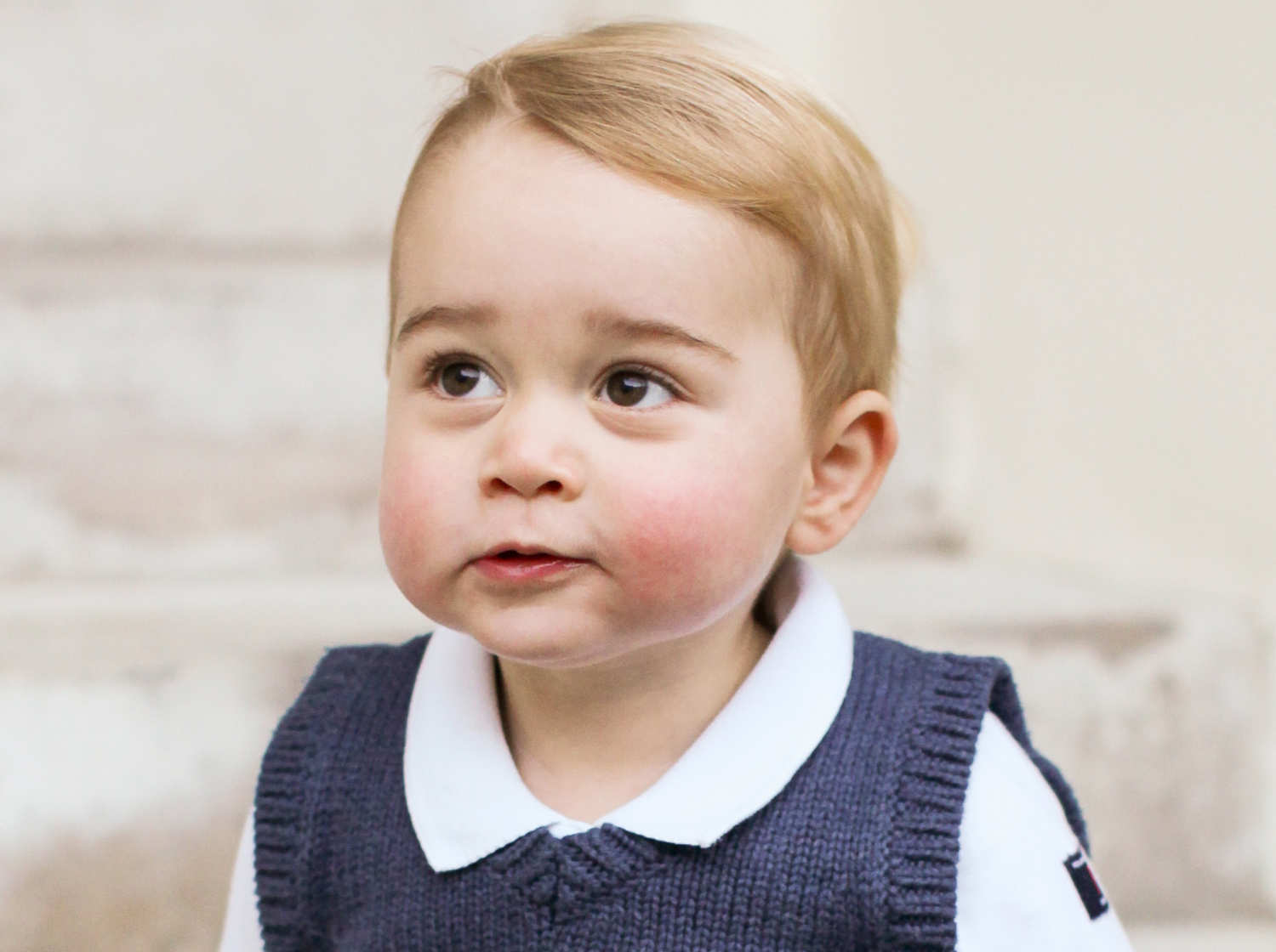 Prince George and Princess Charlotte - Perfect Portraits of Royal Babies 14