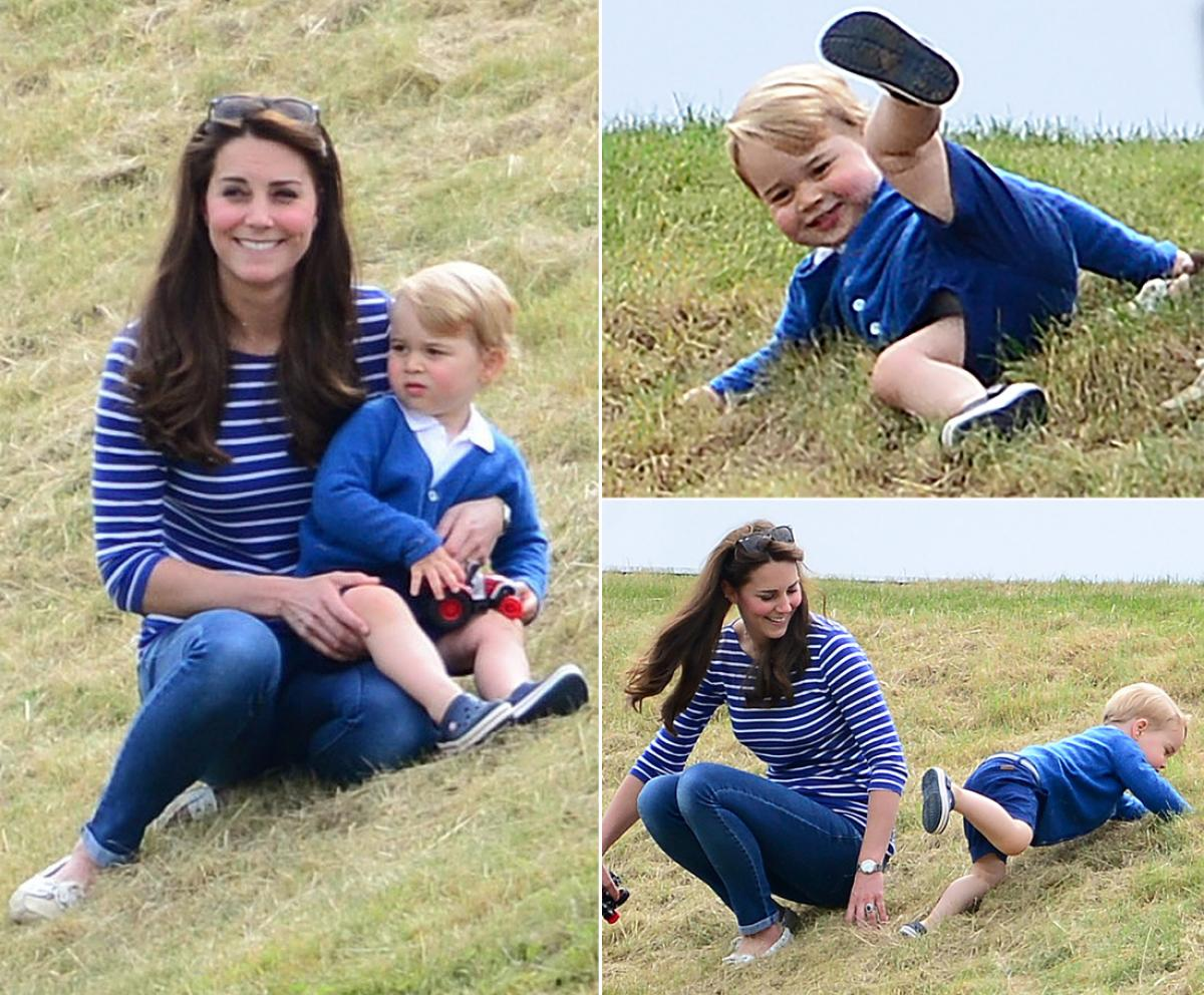 Prince George and Princess Charlotte - Perfect Portraits of Royal Babies 15