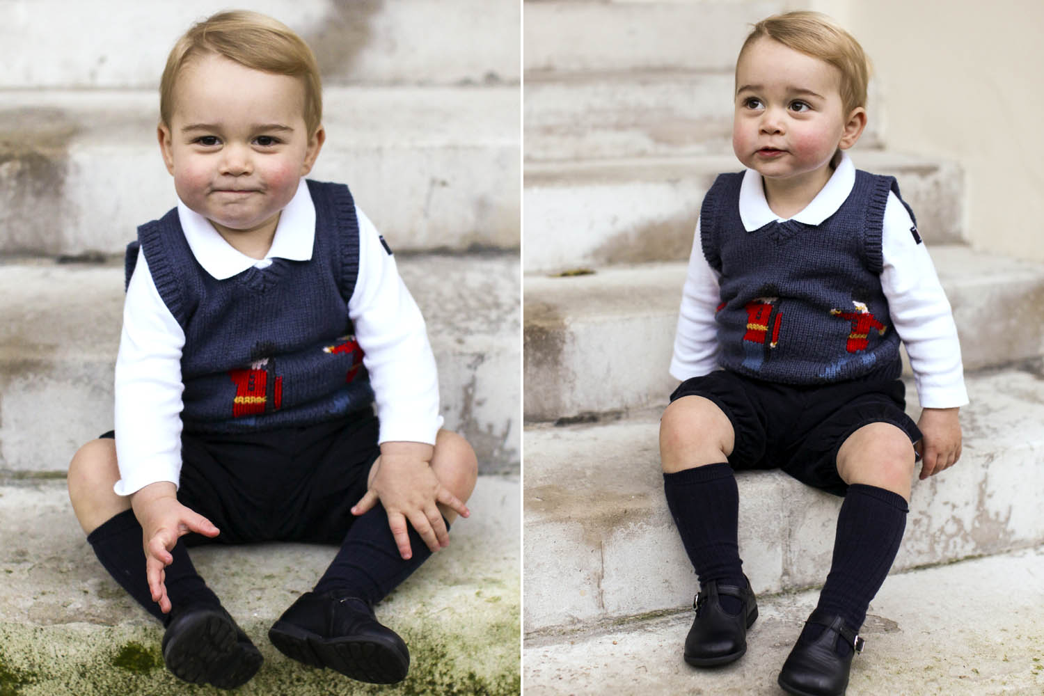 Prince George and Princess Charlotte - Perfect Portraits of Royal Babies 18