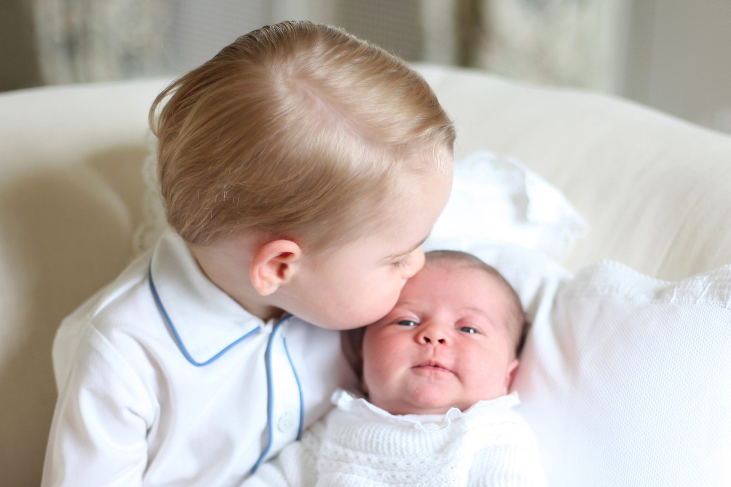 Prince George and Princess Charlotte - Perfect Portraits of Royal Babies 24