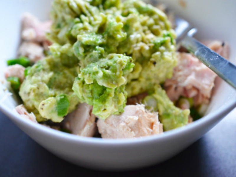 Tuna Avocado Egg Salad