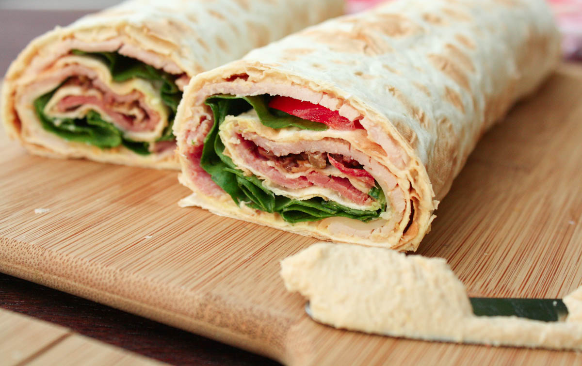 10. Ham and Cheddar Roll-Ups