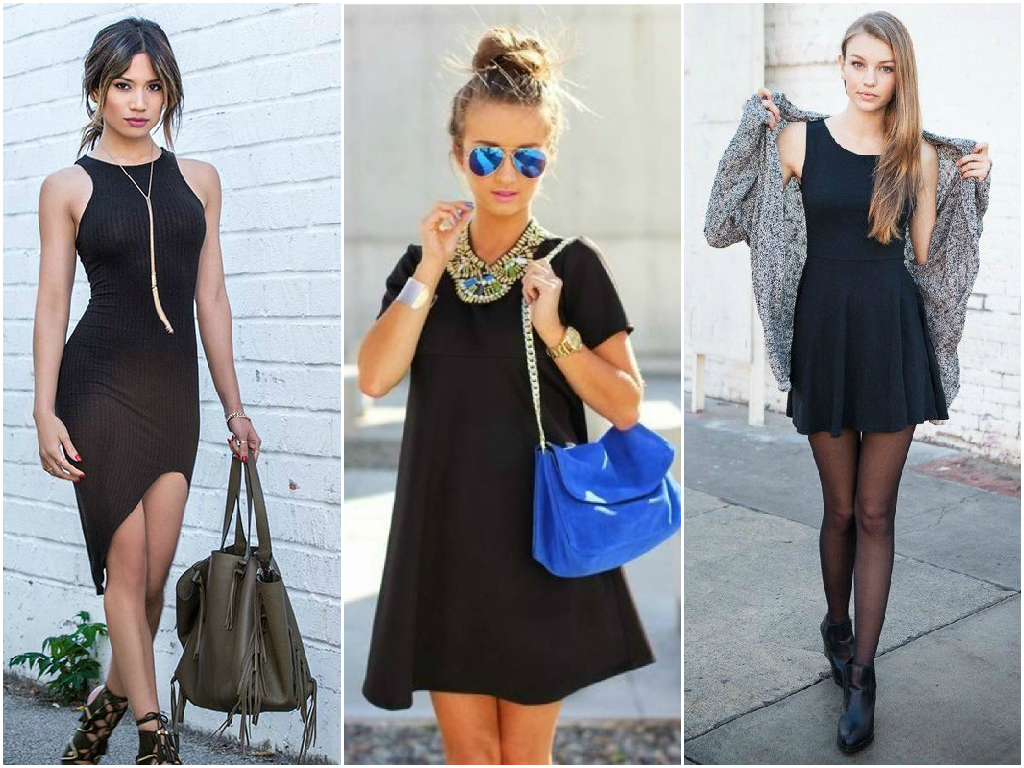 2. Little black dress