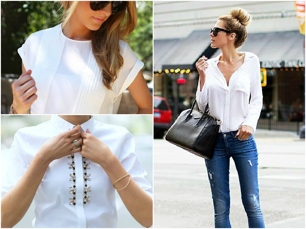 4. White shirt or blouse