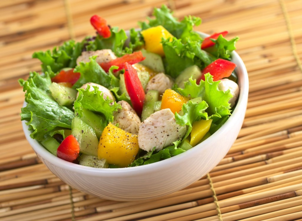 8. Chicken and Mango Salad